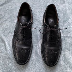 Allen Edmonds Mens McAllister Black Dress Shoes